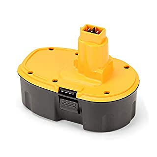 POWERGIANT 18V 3.0Ah NiMh Replacement Battery for DeWalt DE9098 DC725 DC9096 DC9503 DE9095 DE9039 DE9503 DE9096 DC9098 DW9095 DW9096 DW9098