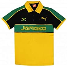 Puma - Go Team Pu0012s, Wayfarer, Injecté, Homme, Black Jamaica Flag/grey Gold Mirror Cat.3(001), 50/0/0