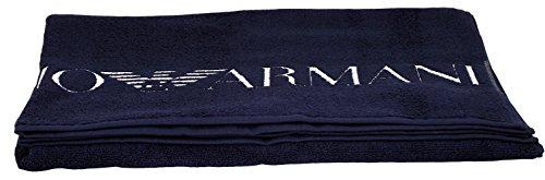 Emporio Armani EA7 Badetuch Saunatuch Handtuch Strandtuch 1,0 m x 1,70 m 32235 Nachtblau