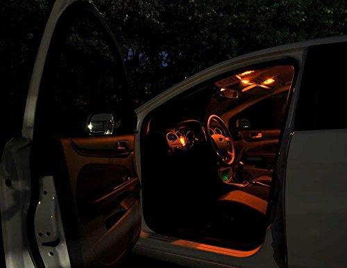 Preisvergleich Produktbild SkodaSuperb3T4 Orangenes Licht Innenraumbeleuchtung Set, mit Check Widerstand, Plug & Play Einbau, Umrüstsatz von Jurmann Trade GmbH®