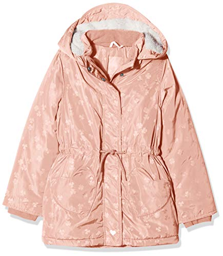 s.Oliver RED Label Mädchen Wintermantel mit Teddyplüsch pink AOP 116