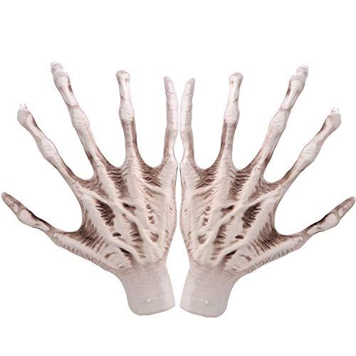 GoodFaith Halloween-Skelett-Hände, Kunststoff, künstliche Hand, Knochen, Zombie-Party, Terror