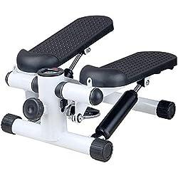 Contactsly-sport Máquina de Step, Entrenamiento Stepper Máquina de Ejercicios aeróbicos Ajustables para Ejercicios Deportivos aeróbicos (Color : Negro, tamaño : Casual Size)