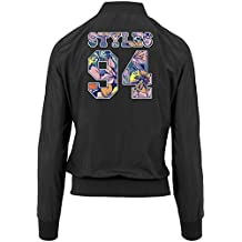 Styles 24 Flowers Bomber Giacca Girls Black Certified Freak