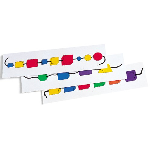 Learning Resources Attribute Bead Activity Cards (Cards Learning Activity Resources)