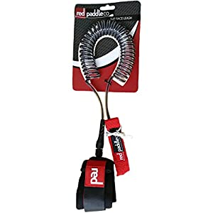 41mTf3dPTcL. SS300  - Red Paddle 8′ Coiled Sup Leash, UNI