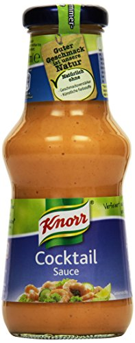 Knorr Grillsauce Cocktail Soße 250 ml (6 x 250 ml)