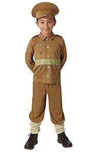 Rubies - Disfraz Oficial de Soldado WW1 para niño, Talla Mediana