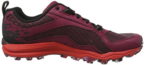 Merrell All Out Crush Tough Mudder, Chaussures de Trail Femme Multicolore (Beet Red)