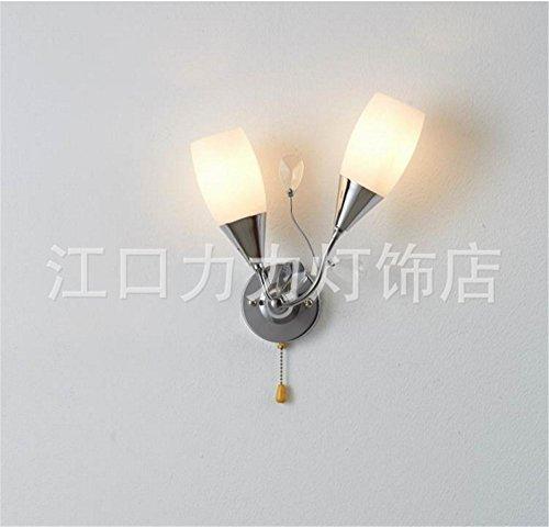 YU-K Chambre Simple Vintage wall lamp creative living salle à manger chambre lumières lumières allée atmosphérique d'or Mode Projecteur applique murale chambre luxueuse en marbre