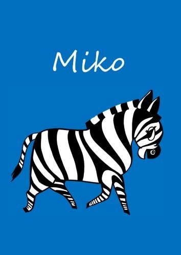 miko-individualisiertes-malbuch-notizbuch-tagebuch-zebra-a4-blanko