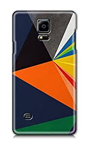 ZAPCASE Printed Back Cover for Samsung Galaxy Note 4