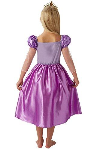 Imagen de rubie 's oficial de disney princess rapunzel childs deluxe disfraz alternativa