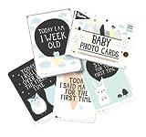 Milestone Baby Cards, par Rapport à la lune