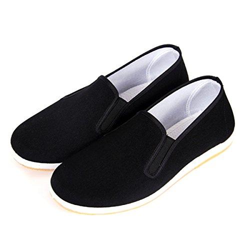 CHT Männer Xiaji Fan Schuhe Alte Peking-Tuchschuhe Black