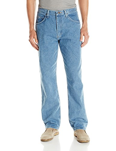 Wrangler Herren Authentics Mens Big & Tall Classic Relaxed Fit Jeans, Stone Bleach, 48W / 30L (30 48 Herren Jeans X)