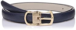Lino Perros Womens Belt (LWBE00452BLUE_95)
