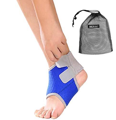 1 Paar Jungen Mädchen Knöchel-Bandage Kompression Neopren Knöchel Armband, mit Folie Displayschutzfolie für die Verstauchungen, die Knöchel Tendon Verletzungen, Arthritis Schmerzlinderung