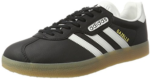 save off 26b93 ecf4f Adidas Gazelle Super, Sneakers Basses Homme, Noir (Core Black Vintage White