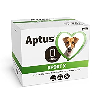 Aptus Sport X Electrolytes for All Dogs | For Dog Hydration After Exercise, Sickness, Travelling, or in Stressful Situations