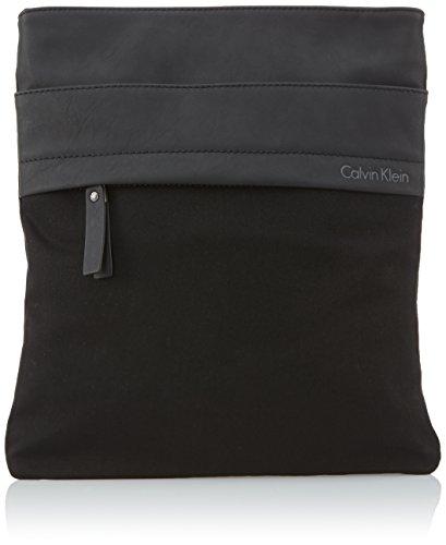 Calvin Klein Jeans Umhängetasche Surface Evolution Flat Crossover Schwarz (Black) J5IJ5002 Preisvergleich