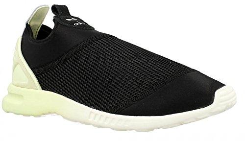 Adidas - ZX Flux Smooth Slip ON W - S75739 - Couleur: Noir-Vert clair - Pointure: 38.6