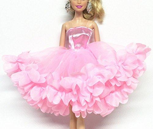 Stillshine ballet robe Vêtements pour Doll/Mode magnifique robe de poupée BU02-01 (rose)