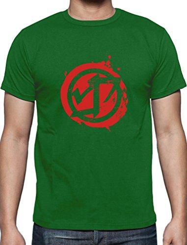 Geschenke für Sport Fans Urban Krav Maga T-Shirt Grün