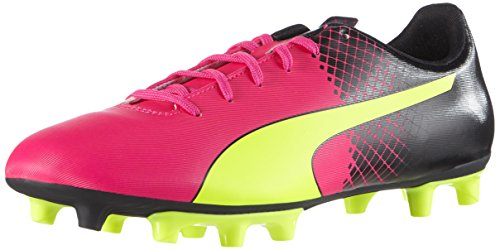 new styles 51f80 4b8d4 Puma Evospeed 5 5 Fg, Chaussures de football homme - Rose (Pink Glo