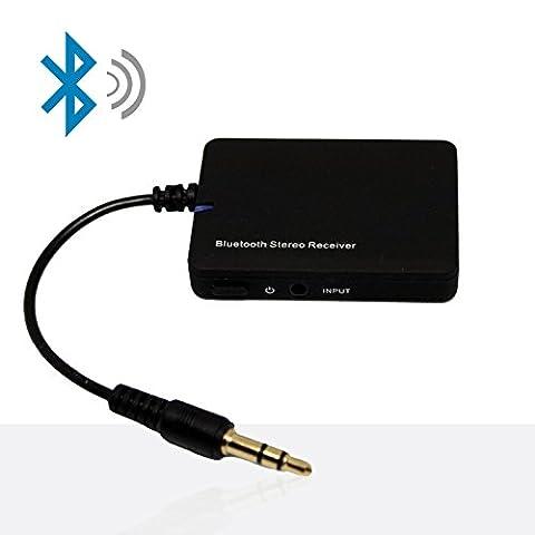 Awary Mini Bluetooth Audio Adapter mit 3.5 Klinke - Super Musik Empfänger / Receiver für das Streamen vom Smartphone (Apple oder