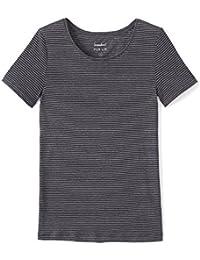 SOMEWHERE T-shirt femme lin rayé, EVRAN
