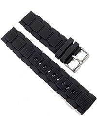 Calypso Ersatzband Uhrenarmband Kunststoff Band schwarz K5577/