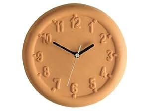 30cm Horloge d'extérieur en terre cuite