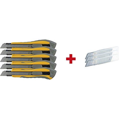 Cuttermesser mm, Orange/Metall,