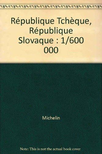 [EPUB] République tchèque, république slovaque : 1/600 000