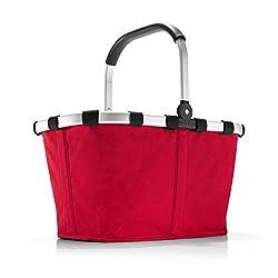 reisenthel carrybag rot Einklaufskorb 48 x 29 x 28 cm, 22 Liter