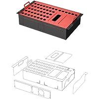 48,26 cm de la caja de la etapa de no confeccionados 40/6 versión de Rack - para XLR estándar Harting y conectores Flightlock