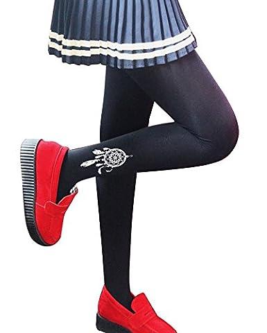 Imixcity® Femmes Automne Tricotes Jupes Polyvalent Occasionnels Tutu Extensible Mini Jupe Skate Jupe-Mini Skirt-A line (Taille Unique, Noir)