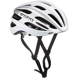 Giro Casco de Ciclismo Foray, Unisex, Color Matte White/Silver, tamaño L