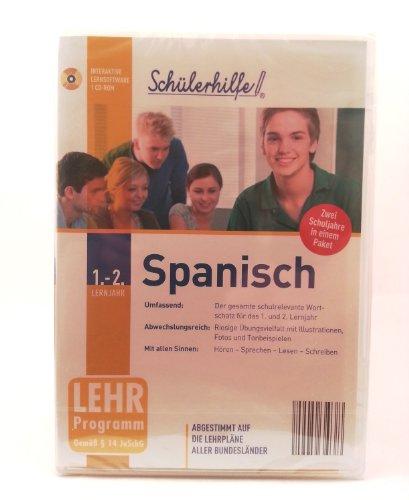 Schülerhilfe CD-Rom Spanisch 1. & 2. Lernjahr Lernsoftware Lernhilfe Lernen