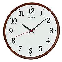 Seiko Quiet Sweep Hand Wood Coloured Wall Clock - Qxa731bls