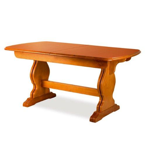 Mobili Ilar Table Paride Fratino 160 Extensible ANILINA Blanche