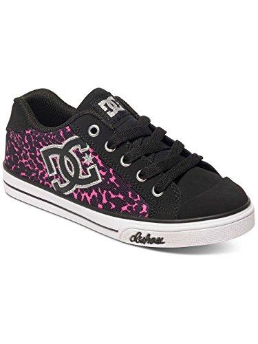 DC Shoes Chelsea Graffik - Chaussures basses pour fille ADGS300001 Noir - Black/Pink