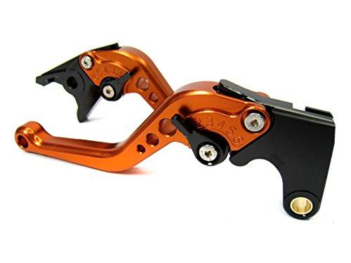 Pro kurz orange CNC Kupplung Bremshebel-Set für KTM 690SMC/smc-r/Duke/Duke R 2012–2013