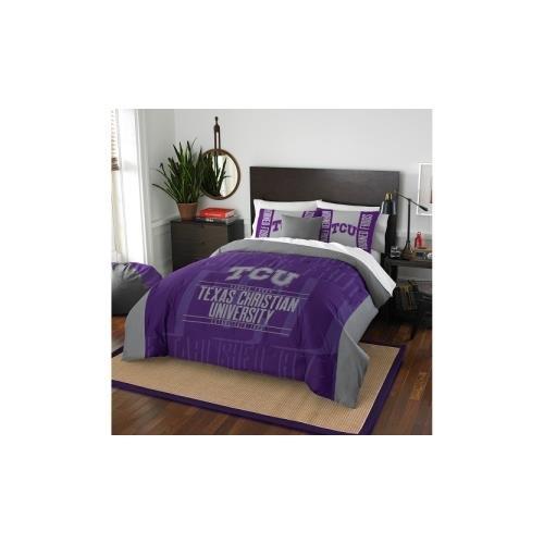 Northwest NCAA Moderne Take Full/Queen Tröster und 2Kissenbezug Set, Unisex - Erwachsene, violett, Full/Queen Size
