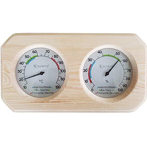 Suleno® Sauna Klimamesser Thermometer Hygrometer ANNA CLASSIC
