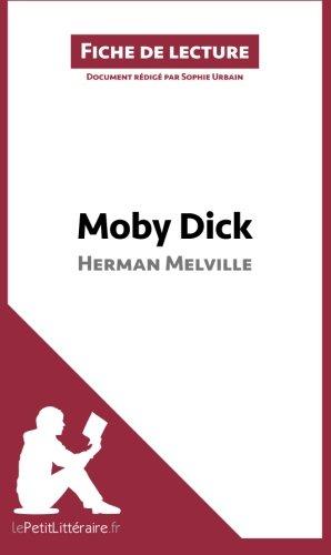 Book's Cover of Moby Dick dHerman Melville Fiche de lecture Résumé complet et analyse détaillée de loeuvre