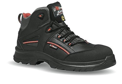 U-Power Teak stivali di sicurezza S3ESD sicurezza guanti da uomo Nero