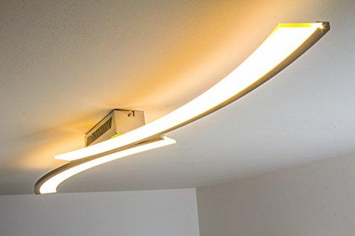 Plafonnier LED design Orgia 24 W 1320 lumens 3000 K lumière couleur blanc chaud