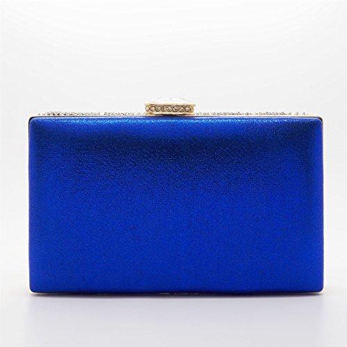 London Footwear - Sacchetto donna blu